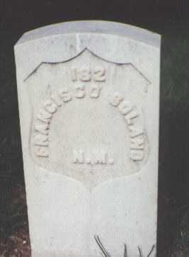 SOLANO, FRANCISCO - Santa Fe County, New Mexico   FRANCISCO SOLANO - New Mexico Gravestone Photos