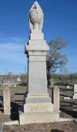 STAAB, ABRAHAM - Santa Fe County, New Mexico | ABRAHAM STAAB - New Mexico Gravestone Photos