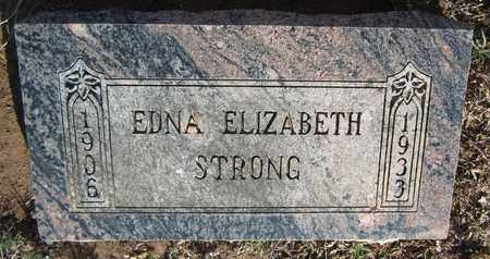 STRONG, EDNA ELIZABETH - Santa Fe County, New Mexico | EDNA ELIZABETH STRONG - New Mexico Gravestone Photos