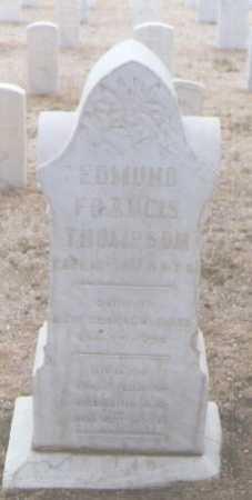 THOMPSON, EDWARD FRANCIS - Santa Fe County, New Mexico | EDWARD FRANCIS THOMPSON - New Mexico Gravestone Photos