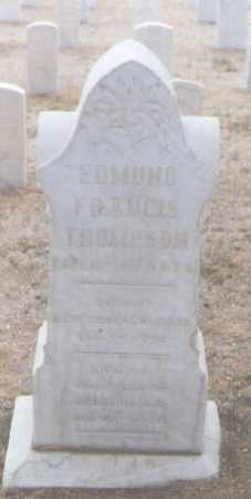 THOMPSON, EDWARD FRANCIS - Santa Fe County, New Mexico | EDWARD FRANCIS THOMPSON - New Mexico Gravestone Photos