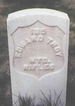 TROY, EDWARD - Santa Fe County, New Mexico   EDWARD TROY - New Mexico Gravestone Photos