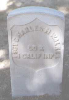 WALKER, CHARLES H. - Santa Fe County, New Mexico | CHARLES H. WALKER - New Mexico Gravestone Photos