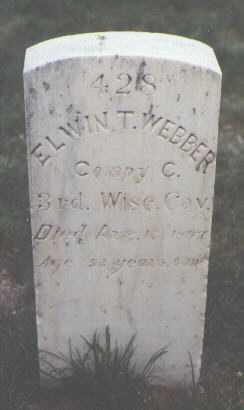 WEBBER, ELWIN T. - Santa Fe County, New Mexico | ELWIN T. WEBBER - New Mexico Gravestone Photos
