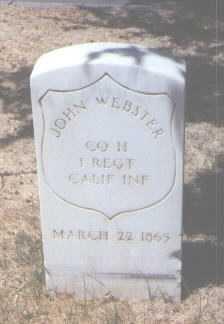 WEBSTER, JOHN - Santa Fe County, New Mexico | JOHN WEBSTER - New Mexico Gravestone Photos