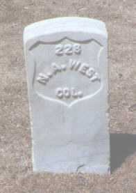 WEST, NELSON A. - Santa Fe County, New Mexico | NELSON A. WEST - New Mexico Gravestone Photos