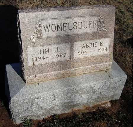 WOMELSDUFF, ABBIE E. - Santa Fe County, New Mexico | ABBIE E. WOMELSDUFF - New Mexico Gravestone Photos