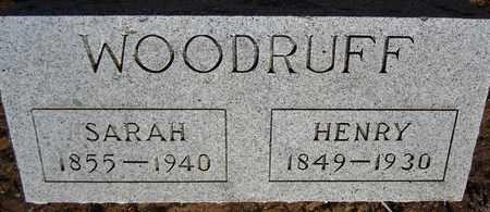 WOODRUFF, SARAH - Santa Fe County, New Mexico | SARAH WOODRUFF - New Mexico Gravestone Photos