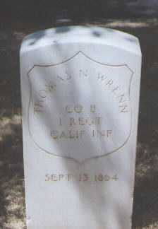 WRENN, THOMAS N. - Santa Fe County, New Mexico | THOMAS N. WRENN - New Mexico Gravestone Photos