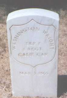 WRIGHT, WASHINGTON - Santa Fe County, New Mexico | WASHINGTON WRIGHT - New Mexico Gravestone Photos