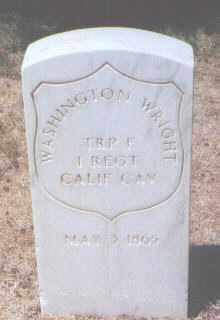 WRIGHT, WASHINGTON - Santa Fe County, New Mexico | WASHINGTON WRIGHT - New Mexico Gravestone Photos
