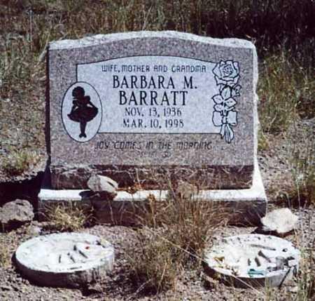 BARRATT, BARBARA M - Sierra County, New Mexico | BARBARA M BARRATT - New Mexico Gravestone Photos