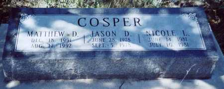 COSPER, JASON D - Sierra County, New Mexico | JASON D COSPER - New Mexico Gravestone Photos