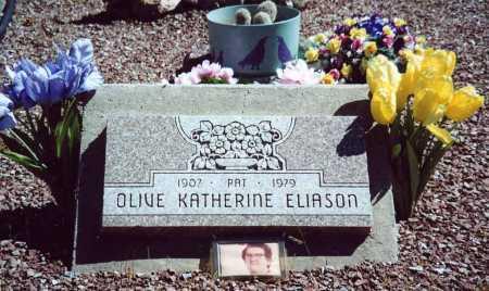 "ELIASON, OLIVE KATHRINE ""PAT"" - Sierra County, New Mexico | OLIVE KATHRINE ""PAT"" ELIASON - New Mexico Gravestone Photos"