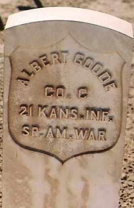 GOODE, ALBERT - Sierra County, New Mexico | ALBERT GOODE - New Mexico Gravestone Photos