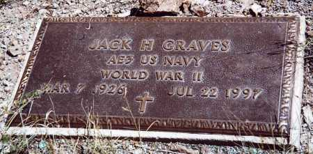 GRAVES, JACK H - Sierra County, New Mexico | JACK H GRAVES - New Mexico Gravestone Photos