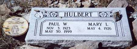 HULBERT, PAUL W - Sierra County, New Mexico | PAUL W HULBERT - New Mexico Gravestone Photos