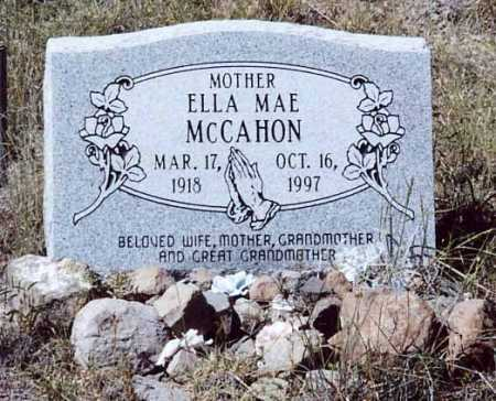 MCCAHON, ELLA MAE - Sierra County, New Mexico | ELLA MAE MCCAHON - New Mexico Gravestone Photos