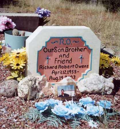 OWENS, RICHARD ROBERT - Sierra County, New Mexico   RICHARD ROBERT OWENS - New Mexico Gravestone Photos