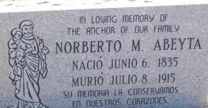 ABEYTA, NORBERTO M. - Socorro County, New Mexico | NORBERTO M. ABEYTA - New Mexico Gravestone Photos