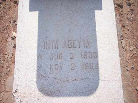 ABEYTA, RITA - Socorro County, New Mexico | RITA ABEYTA - New Mexico Gravestone Photos
