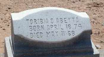 ABEYTA, TORIBIA O. - Socorro County, New Mexico | TORIBIA O. ABEYTA - New Mexico Gravestone Photos