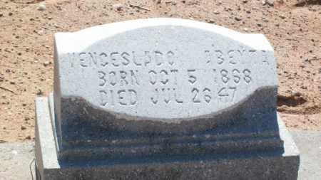 ABEYTA, VENCESLADO - Socorro County, New Mexico   VENCESLADO ABEYTA - New Mexico Gravestone Photos
