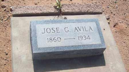 AVILA, JOSE G. - Socorro County, New Mexico | JOSE G. AVILA - New Mexico Gravestone Photos