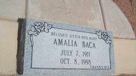 BACA, AMALIA - Socorro County, New Mexico | AMALIA BACA - New Mexico Gravestone Photos