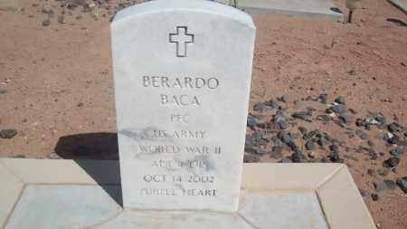 BACA [ WORLD WAR II VETERAN], BERARDO - Socorro County, New Mexico | BERARDO BACA [ WORLD WAR II VETERAN] - New Mexico Gravestone Photos