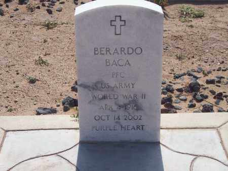 BACA, BERARDO - Socorro County, New Mexico | BERARDO BACA - New Mexico Gravestone Photos