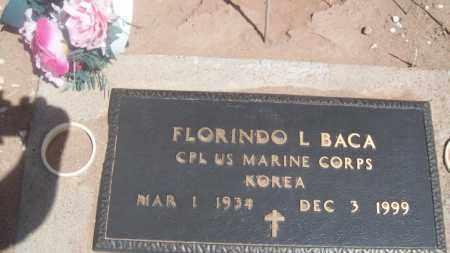 BACA, FLORINDO L. - Socorro County, New Mexico   FLORINDO L. BACA - New Mexico Gravestone Photos