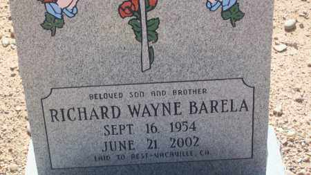 BARELA, RICHARD WAYNE - Socorro County, New Mexico | RICHARD WAYNE BARELA - New Mexico Gravestone Photos
