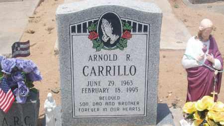 CARRILLO, ARNOLD R. - Socorro County, New Mexico   ARNOLD R. CARRILLO - New Mexico Gravestone Photos