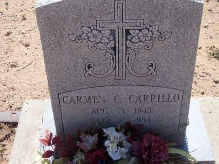 CARRILLO, CARMEN C. - Socorro County, New Mexico | CARMEN C. CARRILLO - New Mexico Gravestone Photos