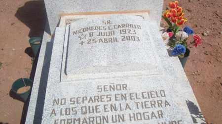 CARRILLO, NICOMEDES - Socorro County, New Mexico | NICOMEDES CARRILLO - New Mexico Gravestone Photos