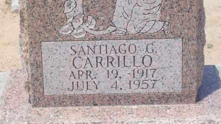 CARRILLO, SANTIAGO G. - Socorro County, New Mexico | SANTIAGO G. CARRILLO - New Mexico Gravestone Photos