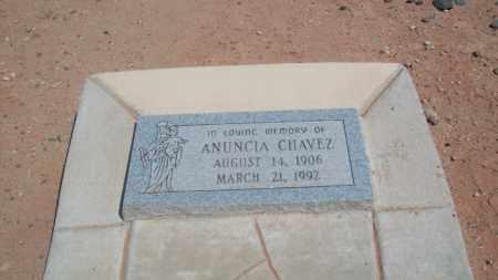 CHAVEZ, ANUNCIA - Socorro County, New Mexico   ANUNCIA CHAVEZ - New Mexico Gravestone Photos