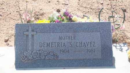 CHAVEZ, DEMETRIA S. - Socorro County, New Mexico | DEMETRIA S. CHAVEZ - New Mexico Gravestone Photos