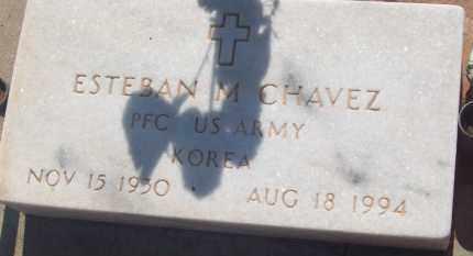 CHAVEZ, ESTEBAN M. - Socorro County, New Mexico | ESTEBAN M. CHAVEZ - New Mexico Gravestone Photos