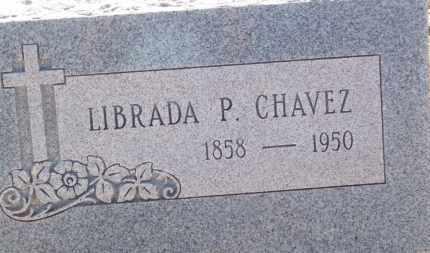 CHAVEZ, LIBRADA P. - Socorro County, New Mexico | LIBRADA P. CHAVEZ - New Mexico Gravestone Photos