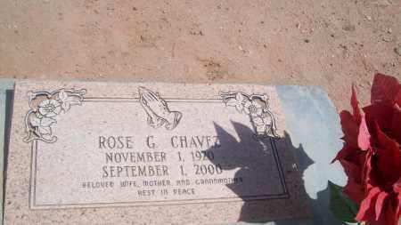 CHAVEZ, ROSE G. - Socorro County, New Mexico   ROSE G. CHAVEZ - New Mexico Gravestone Photos
