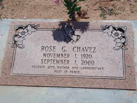 CHAVEZ, ROSE G. - Socorro County, New Mexico | ROSE G. CHAVEZ - New Mexico Gravestone Photos