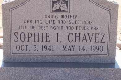 CHAVEZ, SOPHIE I. - Socorro County, New Mexico | SOPHIE I. CHAVEZ - New Mexico Gravestone Photos