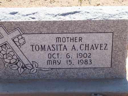 CHAVEZ, TOMASITA A. - Socorro County, New Mexico | TOMASITA A. CHAVEZ - New Mexico Gravestone Photos