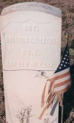 GALLEGOS, DOLORES - Socorro County, New Mexico | DOLORES GALLEGOS - New Mexico Gravestone Photos