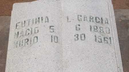GARCIA, EUTIMIA L. - Socorro County, New Mexico   EUTIMIA L. GARCIA - New Mexico Gravestone Photos