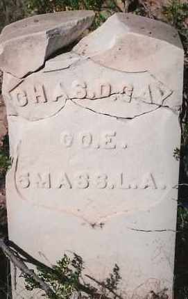 GAY, CHARLES D. - Socorro County, New Mexico | CHARLES D. GAY - New Mexico Gravestone Photos