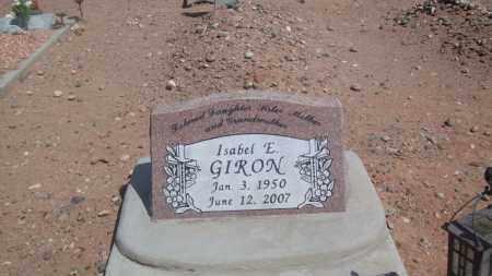 GIRON, ISABEL - Socorro County, New Mexico | ISABEL GIRON - New Mexico Gravestone Photos