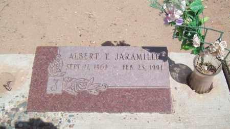 JARAMILLO, ALBERT T. - Socorro County, New Mexico | ALBERT T. JARAMILLO - New Mexico Gravestone Photos
